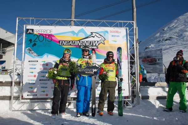 Engadin Snow 2015 Podium
