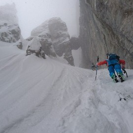Cham Lines – Couloir GYPAETE
