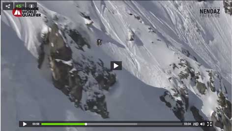 3 Wins in a raw – Nendaz Freeride World Qualifier